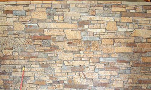 Farmers Brown Chopped Veneer from Pine's Stone Company