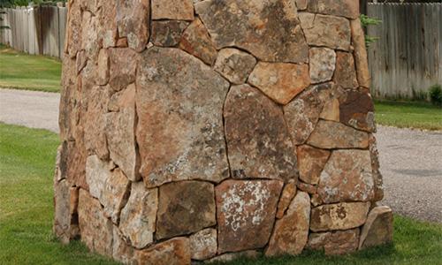 Comanche Moss Rock Veneer from Pine Stone Company