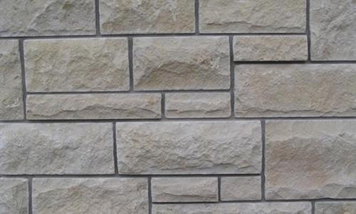 Kansas Cream Stone Veneer from Pines Stone Co.